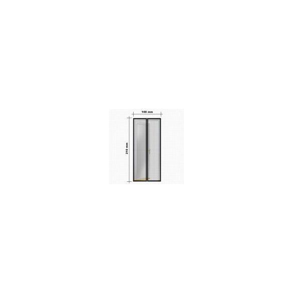 Steck Mágneses szúnyogháló függöny ajtóra  fehér SRM 100F rovarháló