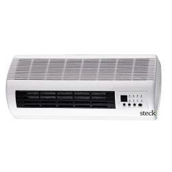 Elektromos ventilátoros fűtőtest, távirányítóval (4 m hatótávolság)