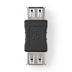 USB 2.0 Adapter | A Aljzat - A Aljzat | Fekete