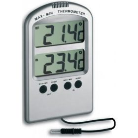 Digitális hőmérő és páramérő, ételhőmérő